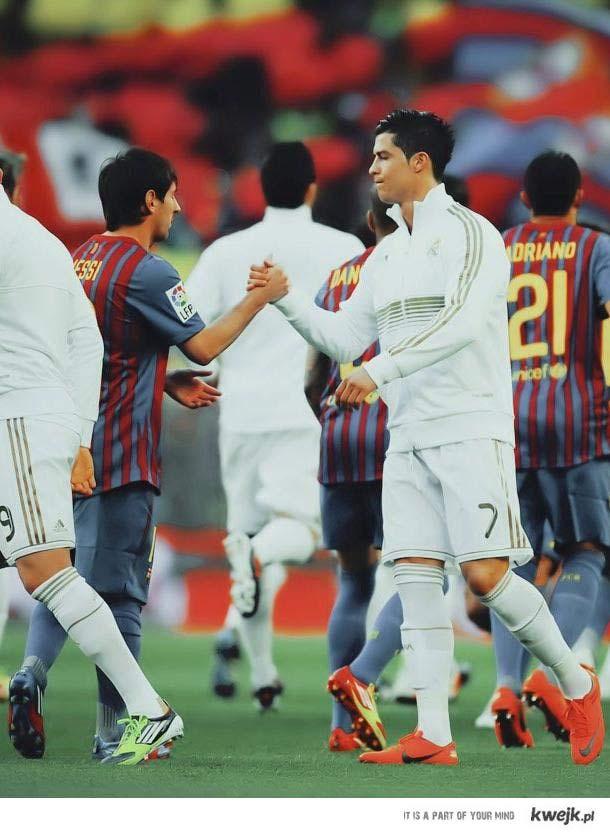 Messi i Ronaldo.