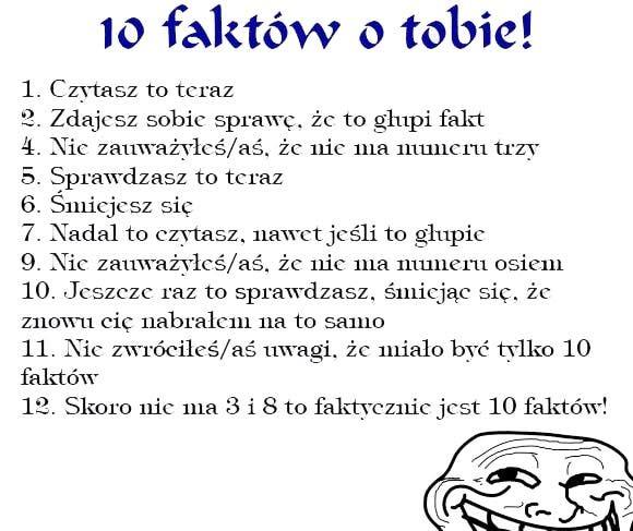 10 głupich faktów
