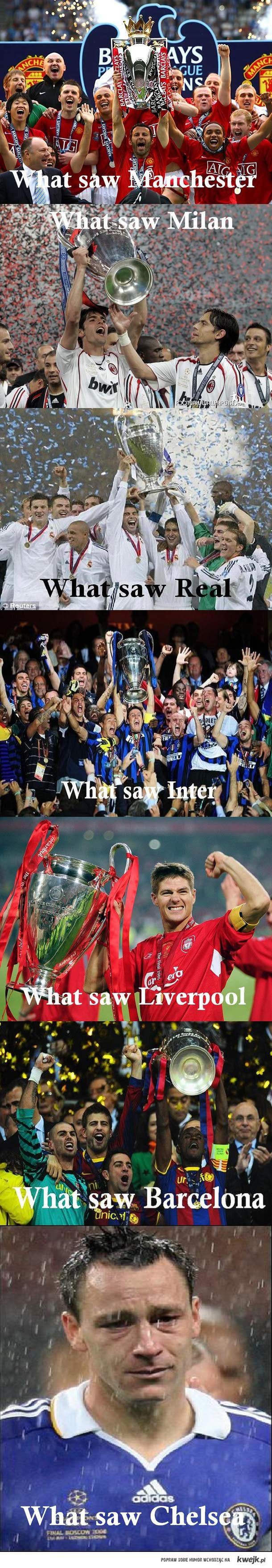 What saw Chelsea