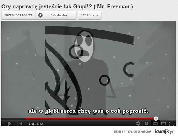 Freeman przekaz podprogowy