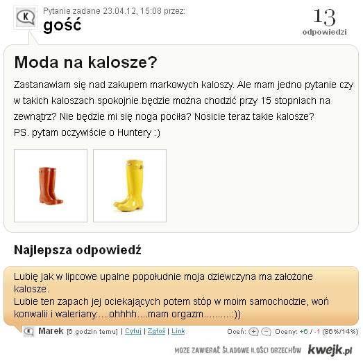Kalosze :) !