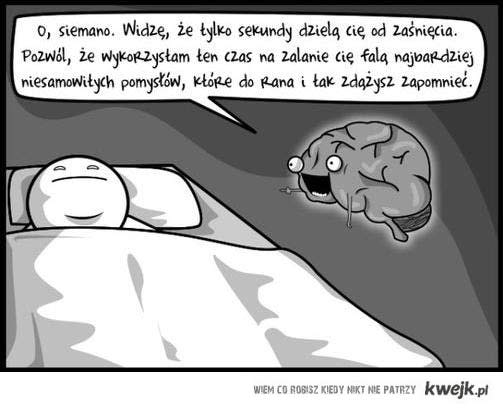 a zasypiam tak