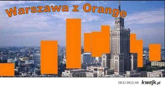 Warszawa z Orange