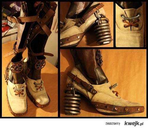 steampunk buciki ;)