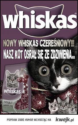 Whiskas czereśniowy