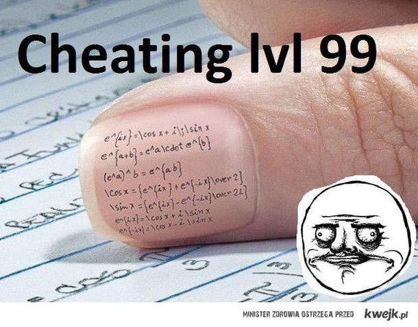 Cheating lv99