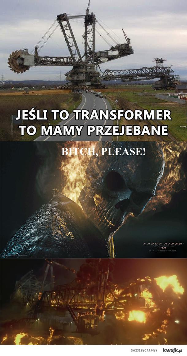 Transformer vs Rider