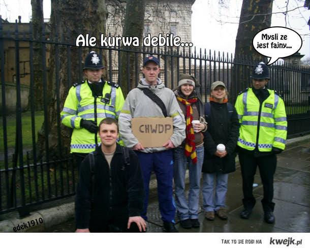 Policja i mądrzy ludzie.