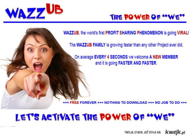 http://signup.wazzub.info/?lrRef=d397fd17  < zarejestruj się i zarabiaj ! Pierwsza strona ktora dzieli sie zarobkami z uzytkowni