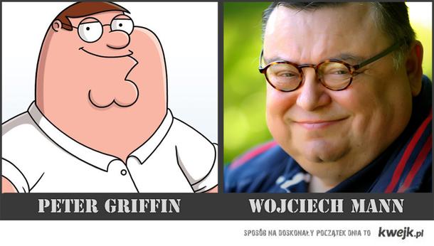 Peter Griffin vs Wojciech Mann