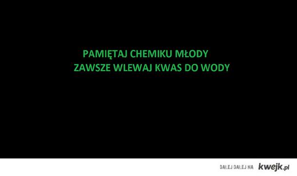 chemiku młody