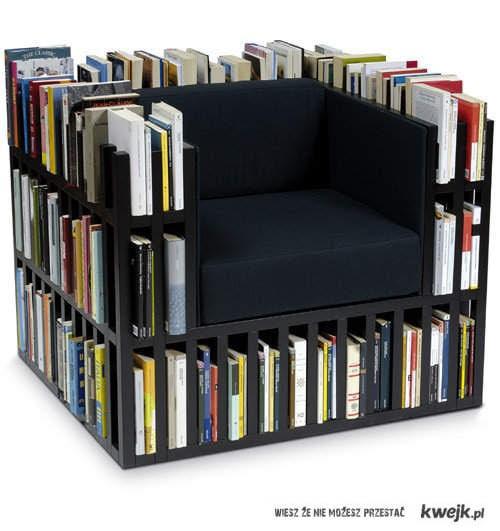 fotel czytelnika