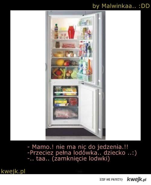 Ach te lodówki.:D