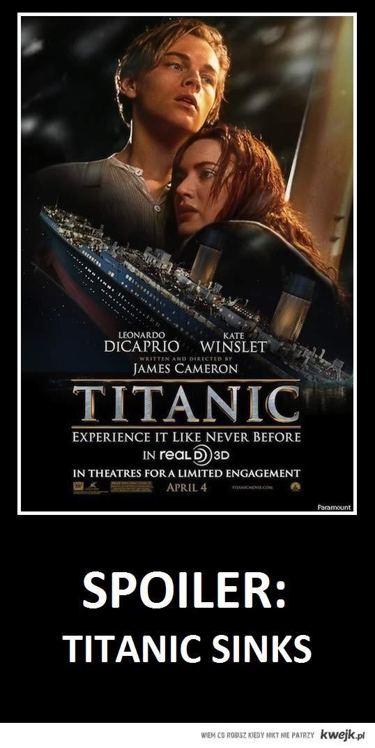 Titanic spoiler