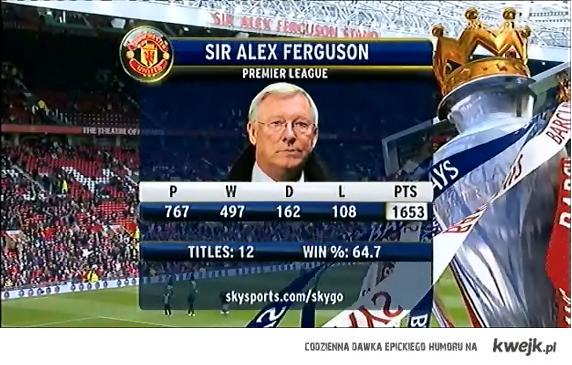 Sir Alex Ferguson .