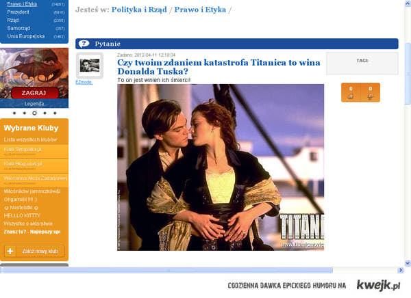 Katastrofa Tytanica