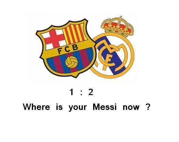 Where is your Messi ?!