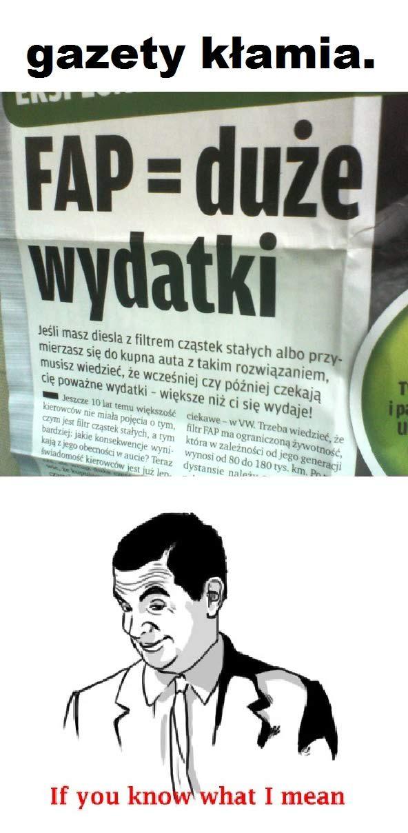 Gazety kłamią
