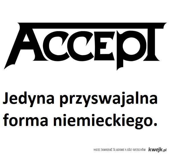 Accept \m/