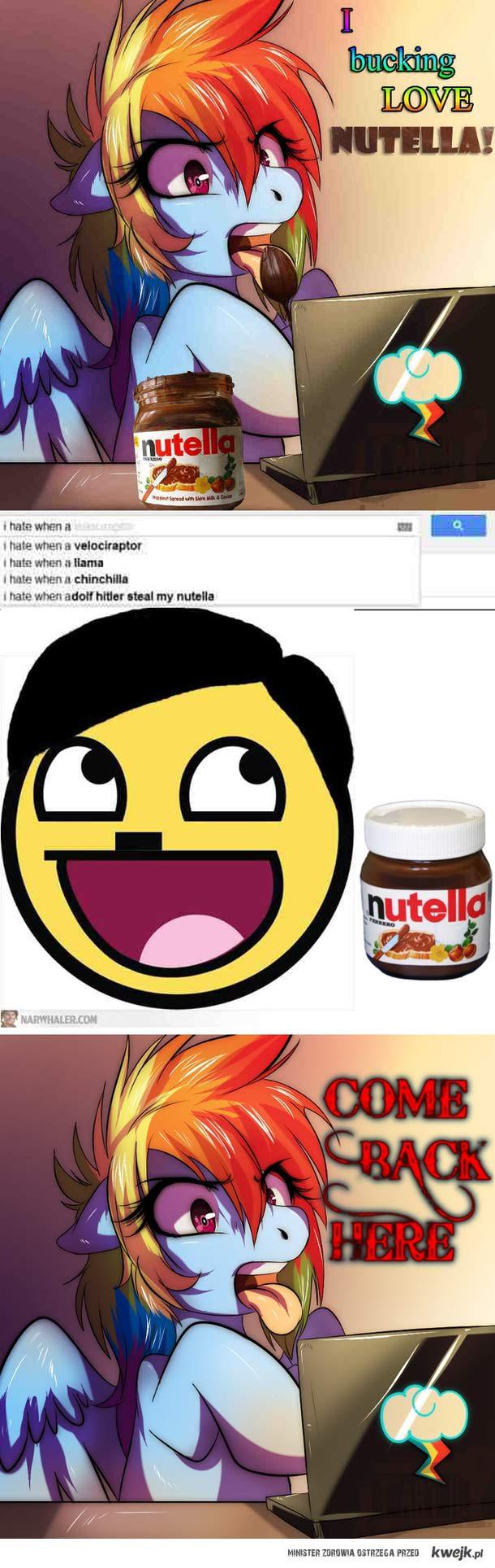 Hitler has another Nutella