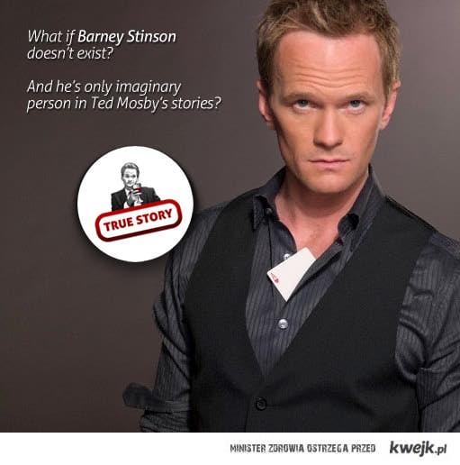 Barney Stinson nie istnieje