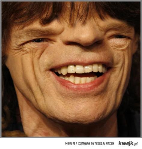 Mick Jagger inaczej