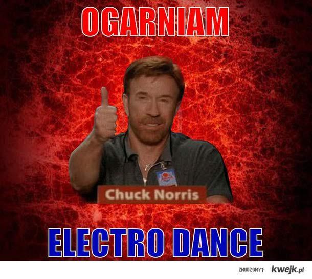 Nawet Chuck Norris to ogarnia