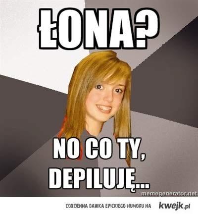 Łona?