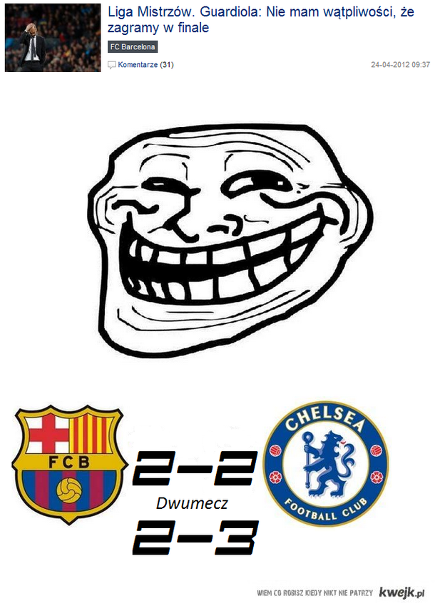 Barcelona i jej awans