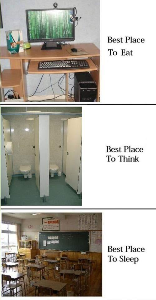 Trzy najlepsze miejsca :P