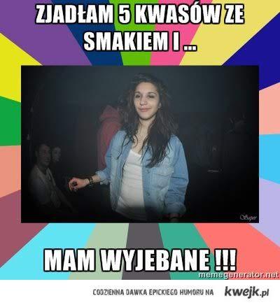 5 kwasów
