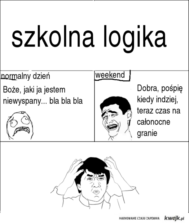 szkolna logika