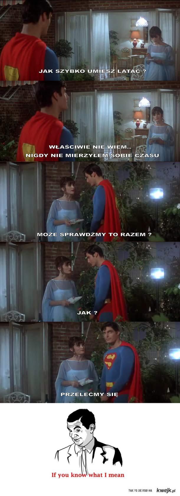podryw na supermana