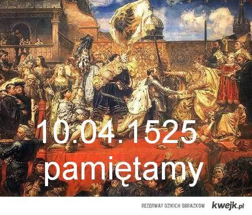 hołd pruski pamiętamy