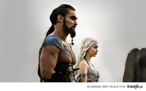 Khal Drogo i Daenerys