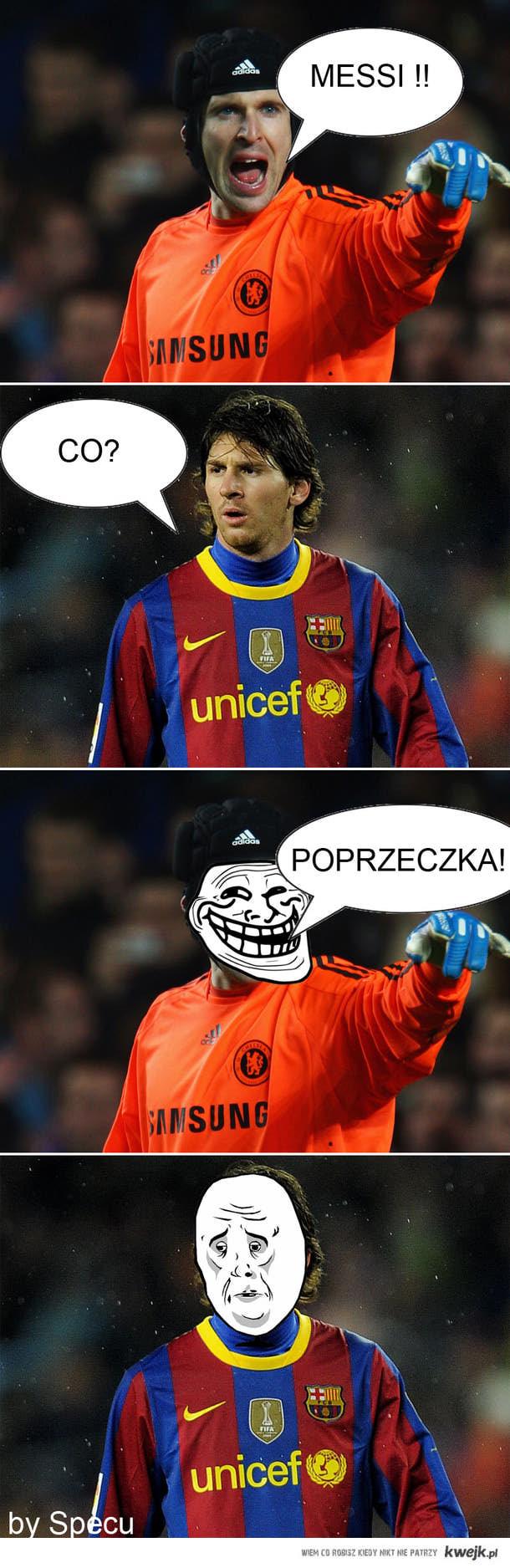 Messi Poprzeczka