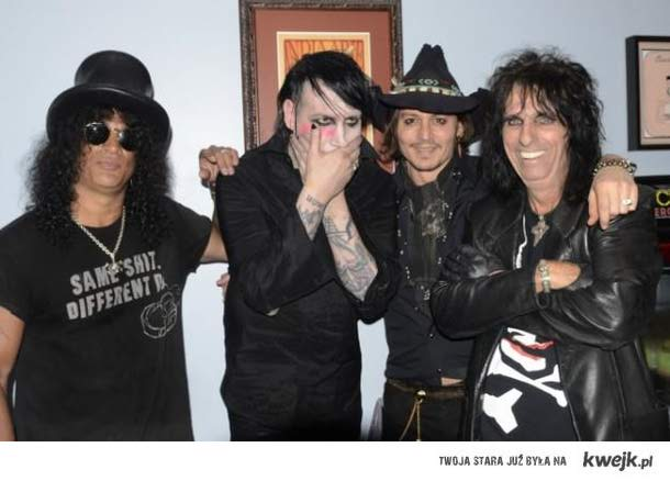 slash,  manson, deoo, alice