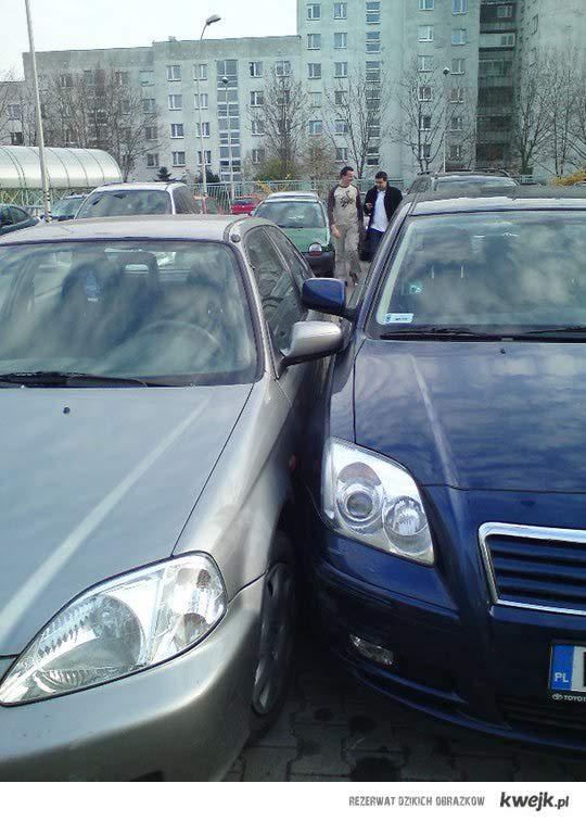 Mistrz parkowania! :]