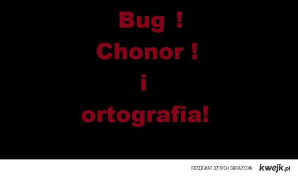 Bug Chonor i ortografia