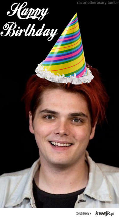 Happy Birthday Gerard.