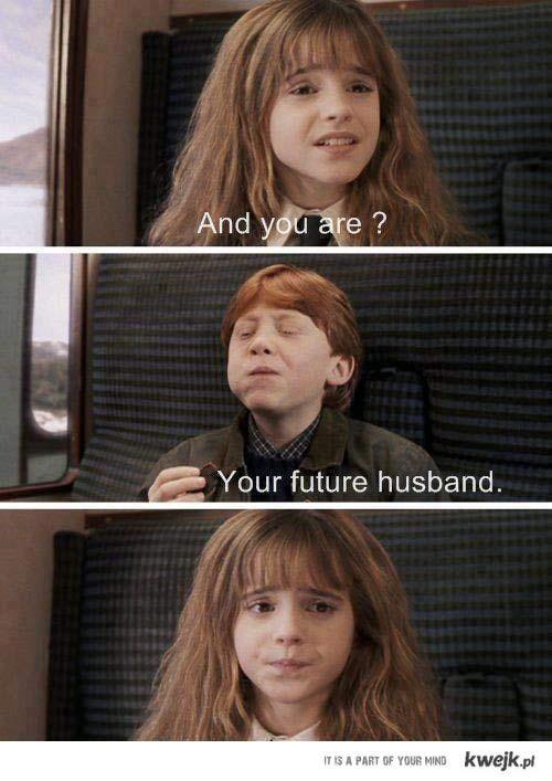 Hermiona i Ron