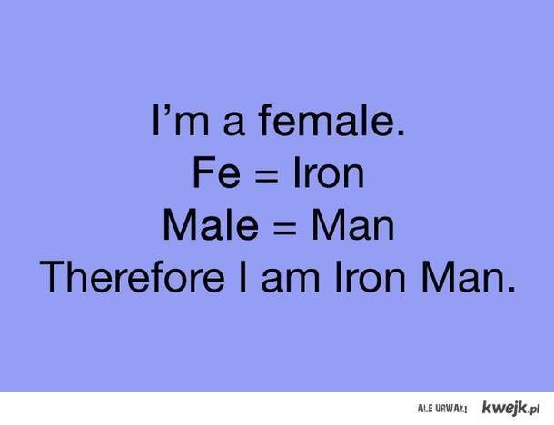 iron man ;)