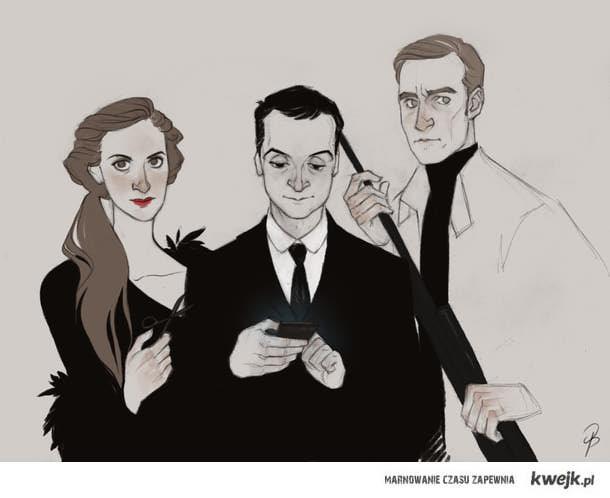 Jim, Molly, Sebastian