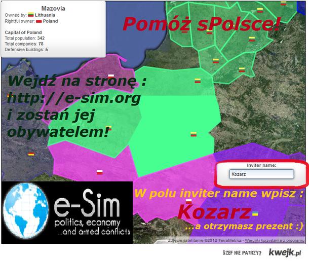 e-Sim zaprasza - http://e-sim.org/lan.69101/