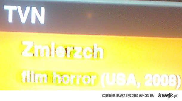 zmierzch - horror