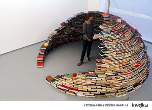 igloo z książek