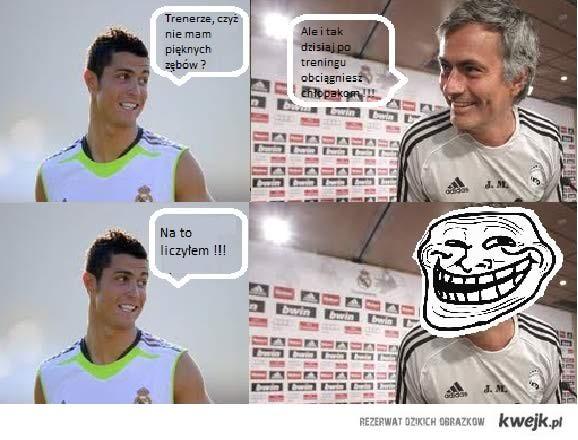 Czarne myśli Ronaldo