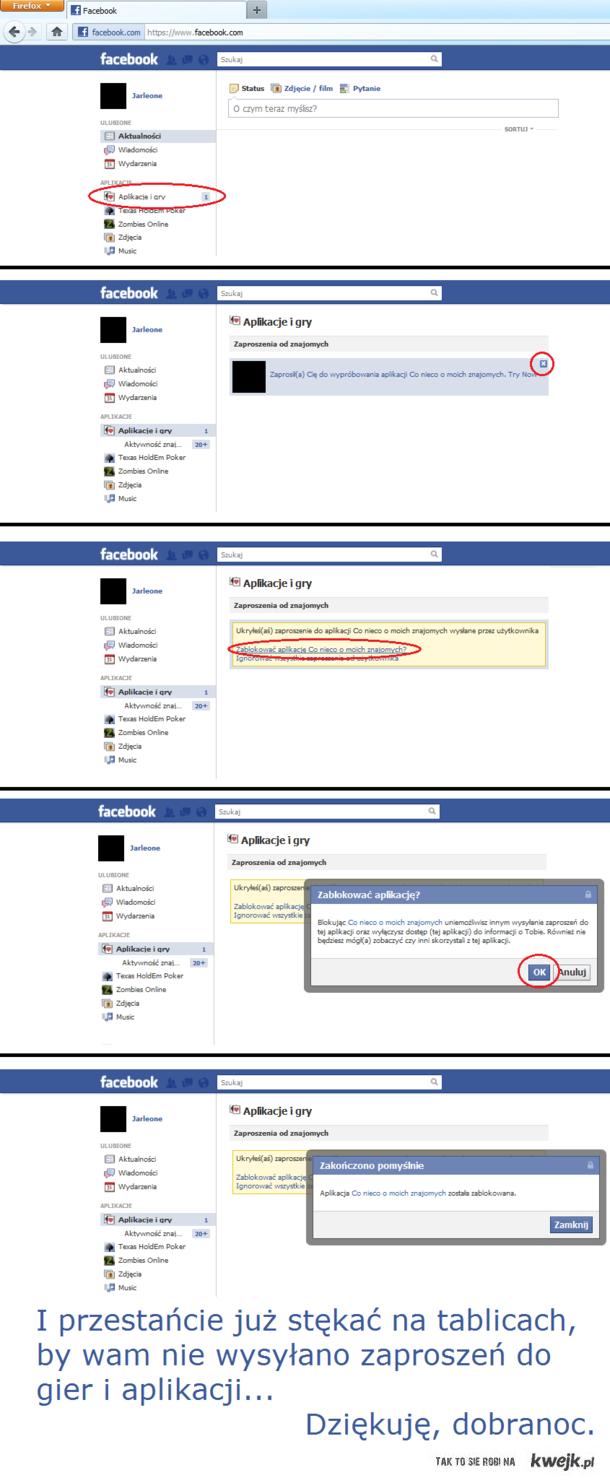 Gry i aplikacje na fb