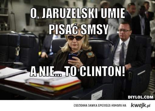 Jaruzelski pisze smsa