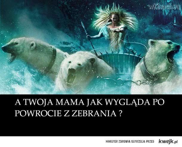 A Twoja mama?
